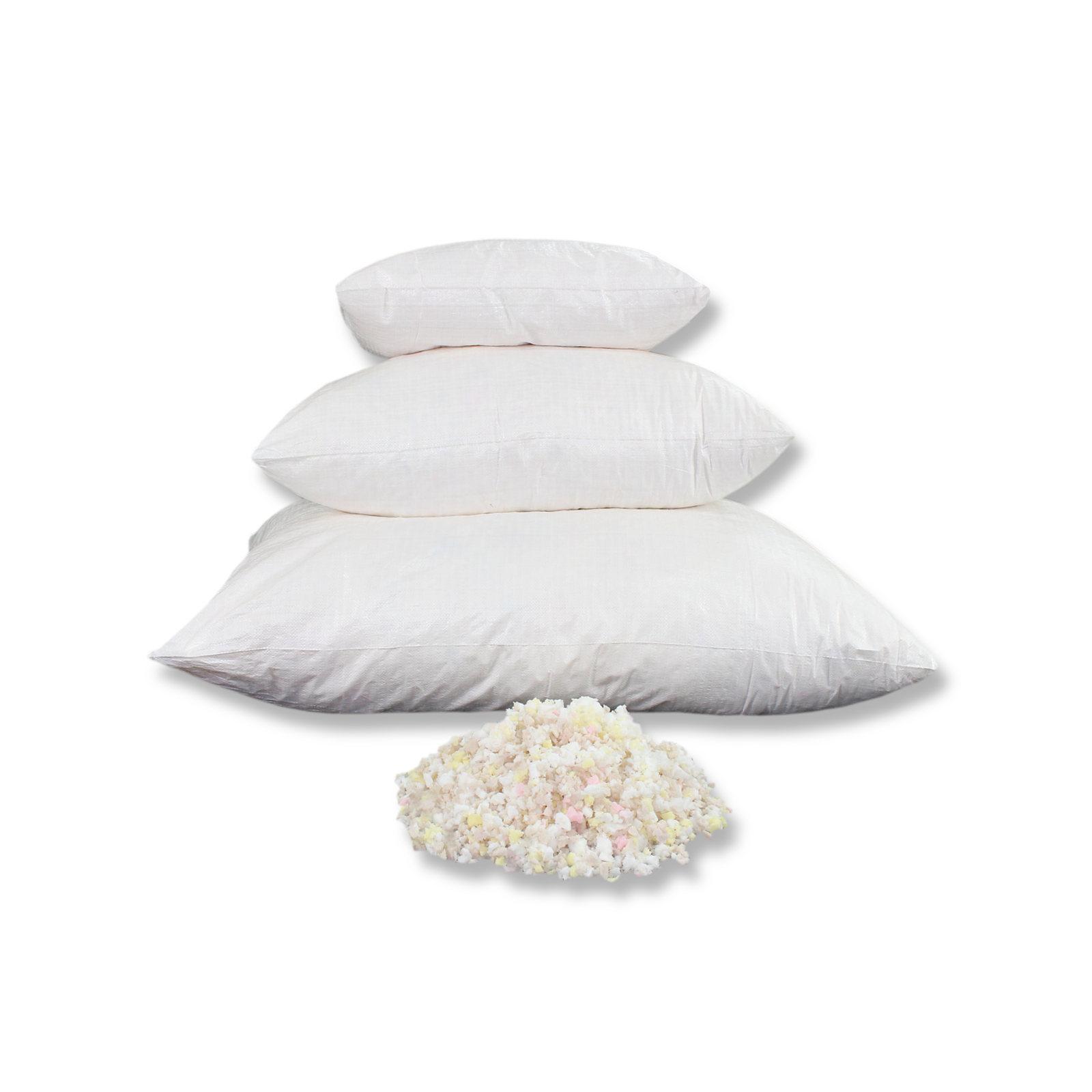 1kg FoamMixfüll© Premium Füllmaterial für Kissen Schaumstoffflocken