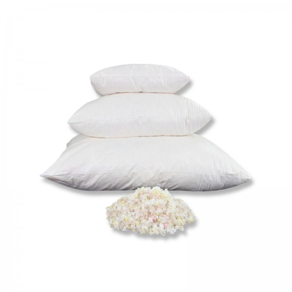 1kg Viskoelastische Flocken, Schaumstoffflocken für Kissenfüllungen, Basteln