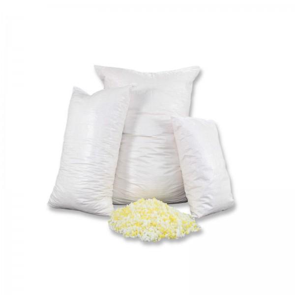1kg Kaltschaumflocken, Schaumstoffflocken für Kissenfüllungen, Basteln