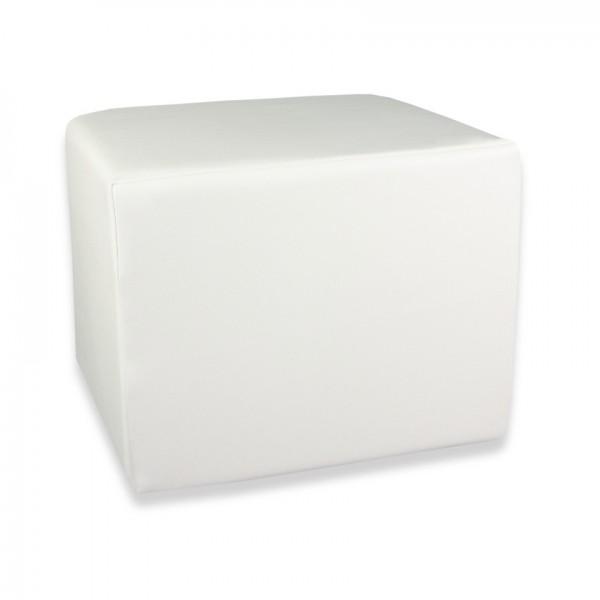 Stufenlagerungswürfel, Bandscheibenwürfel, Lagerungswürfel, mit Soft-Kunstlederbezug, ca. 50x45x40