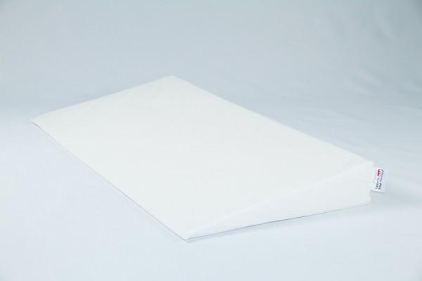 Keilkissen, Bettkeil mit Bezug 9/1cm, verschiedene Farben