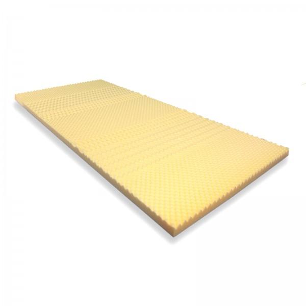 Visko Noppenplatte medium H2, 7 Zonen, Visco Auflage für Wasserbetten und Matratzen