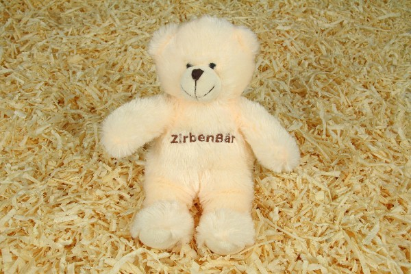 Kuscheltier Zirbenbär, 30cm, Füllung Zirbenspäne
