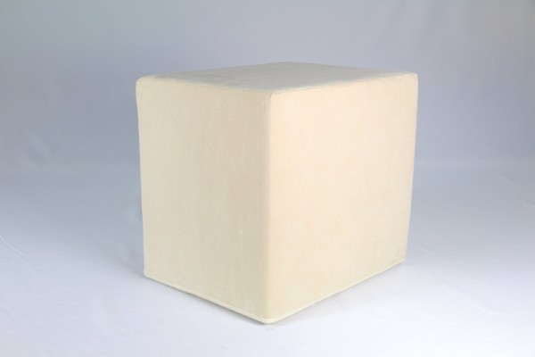 Stufenlagerungswürfel, Bandscheibenwürfel, Lagerungswürfel, mit Microfaserbezug, ca. 50x45x40