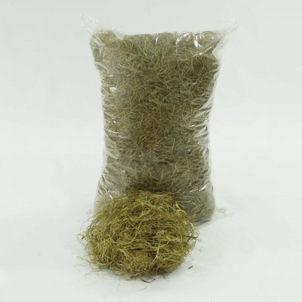 1kg Palmfaser, lose gezupft, Polstermaterial, Füllmaterial