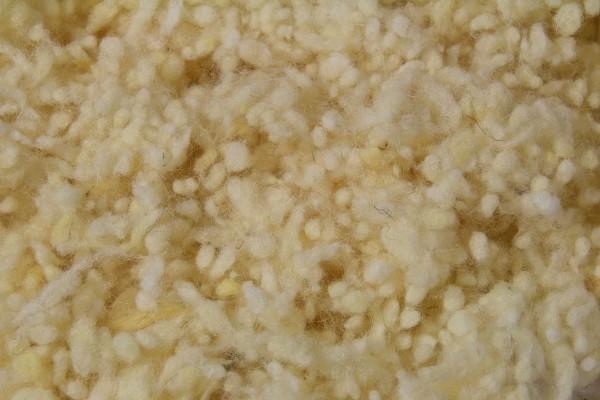 500 Gramm Schafwollkügelchen kbT, Schafwolle, Wollkügelchen, Füllmaterial