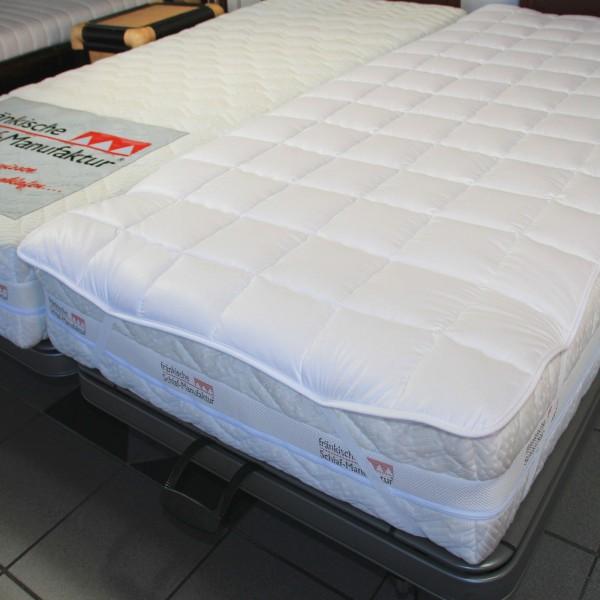 Frankenstolz Spannauflage Baumwolle, kochfest, Unterbett Matratzenauflage, B-Ware