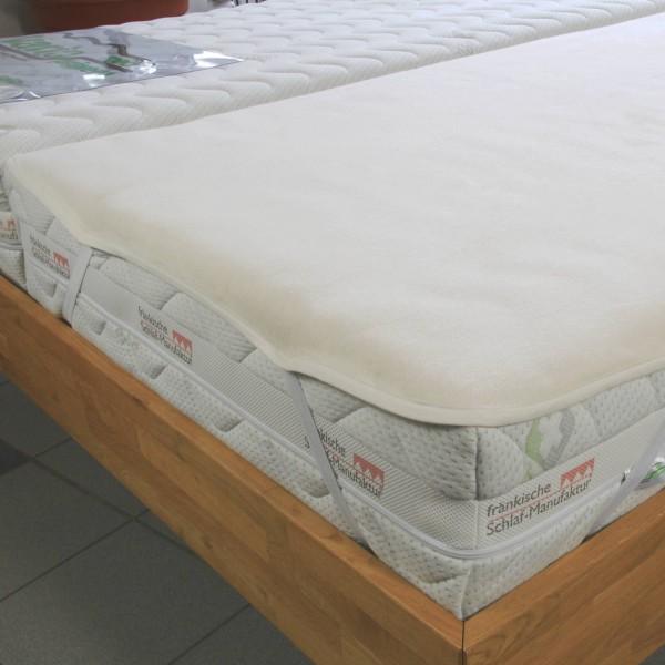 Inkontinenz Molton Matratzenschoner, 100% Baumwolle, kochfest bei 95 Grad
