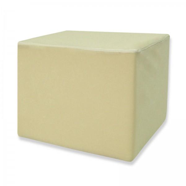 Stufenlagerungswürfel, Bandscheibenwürfel, Lagerungswürfel, mit Microfaserbezug, ca. 45x40x35